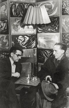 Man Ray & Marcel Duchamp