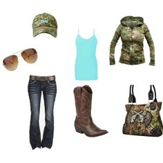 """""""Coutry Girl Camo"""" by lshahan on Polyvore"""