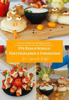 Party Snake & finger food pour un buffet sain Party Finger Foods, Snacks Für Party, Party Appetizers, Buffets, Buffet Party, Paleo Meal Plan, How To Eat Paleo, Food Humor, Kids Meals