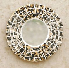 leopard print home decor | Serengeti Leopard Mosaic Mirror Animal Print Home Decor