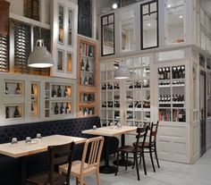 BON restaurant in Bucharest by Cristian Corvin