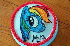 My Little Pony cake, Rainbow Dash cake