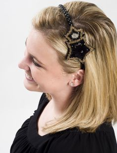 Ellen - great headband - especially for special events