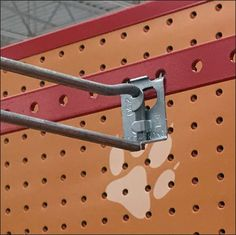 Pegboard Extender Straight Entry Scan Hook – Fixtures Close Up
