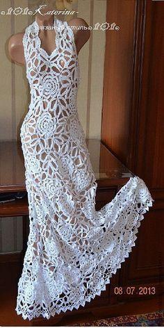 62 Best Ideas For Knitting Fashion Art Knitwear - Diy Crafts Knit Dress, Dress Skirt, Lace Dress, Mode Crochet, Crochet Lace, Crochet Skirts, Crochet Clothes, Crochet Wedding Dresses, Romper Pattern