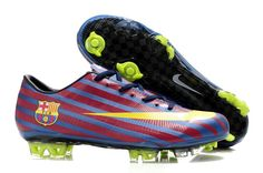 finest selection c8c42 e2645 New Nike Mercurial Vapor Superfly III Elite Safari FG Firm Ground Barcelona  Team Soccer Cleats Blue Red Yellow