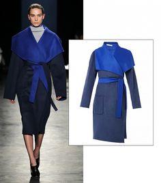 Chirico Bo-Colour Wool Blend Coat by Altuzarra // #SS15 #Shopping