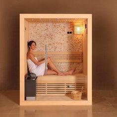 Sauna Finlandese Megève - Sauna e Saune Sauna Steam Room, Sauna Room, Sauna Shower, Shower Tub, Sauna Design, Bath Design, Home Room Design, House Design, Jacuzzi