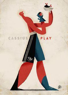 Cassius Play by Riccardo Guasco, via Behance
