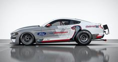 Ford has made its historic Mustang Cobra Jet a tad more modern by packing in horsepower worth of electric motivation. Their newest dragster prototype, Ford Mustangs, Ford Mustang Cobra, Lincoln Suv, Dragster, Motor Ford, Automobile, Shelby Gt500, Pony Car, Drag Cars