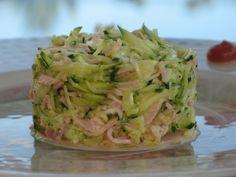 Salade de courgette crues - Patio'nnement cuisine