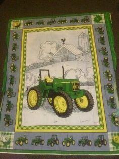 JOHN DEERE reversible quilt