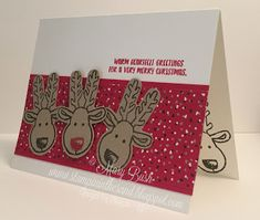 Stampin' in the Sand: Video 2 of 3: Cookie Cutter Christmas Meets One Sheet Wonder
