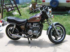 My Bike a 1981 Honda CB650 Custom