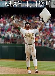 On #ThisDayInHistory in 1991, Rickey Henderson breaks stolen base record.Read More http://histv.co/1JWeWnZ