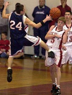 Great Basketball Play