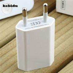 Kebidu ЕС США Подключите USB Мощность дома стены Зарядное устройство адаптер для iPhone 6 6 S плюс 5 5S 4 4S сотовый телефон путешествия Мощность зарядки ADAPTE