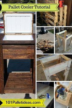 Build a #Pallet #Cooler - Full Tutorial | 101 Pallet Ideas
