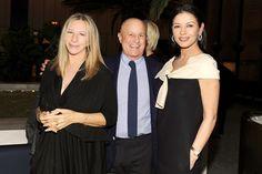 Barbra Streisand Ronald Perelman Catherine Zeta-Jones