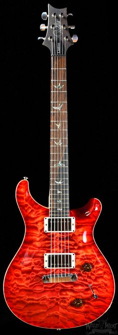 PRS Paul Reed Smith Artist Package Custom 22 Blood Orange Flame Maple Neck | Electric Guitars | Wild West Guitars