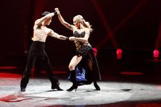 """Top 20 contestants Cole Horibe and Lindsay Arnold perform a Paso Doble routine to """"Unstoppable"""" choreographed by Jason Gilkison on SO YOU THINK YOU CAN DANCE."""
