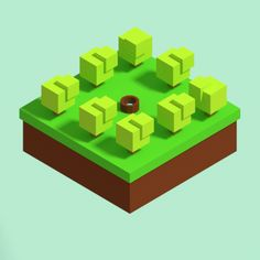 My first isometric art