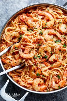 15-Minute Creamy Tomato Garlic Butter Shrimp