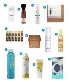 12 Cruelty-Free Beach Beauty Essentials | Hydrating leave-in conditioner, age-defying hand cream, waterproof bronzer, my secret for an oil-free face in seconds, an ingenious underarm product and more! All vegan and cruelty-free, of course!