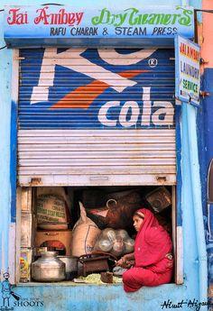 *** - Street Shot from Pushkar City Rajasthan India