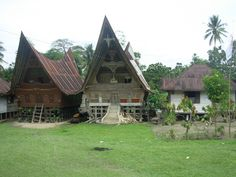he Boat Shaped Batak Houses on Samosir Island