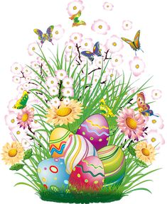Transparent Easter Decor with Eggs and Grass PNG Clipart Picture Easter Art, Easter Crafts, Easter Bunny, Easter Eggs, Easter Decor, Happy Easter Pictures Inspiration, Cute Easter Pictures, Ostern Wallpaper, Illustration Noel