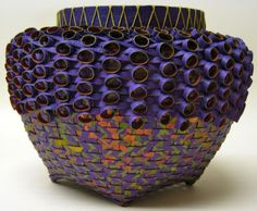 woven paper basket - Polly Allen