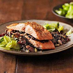 Salmon and Wild Rice Napoleon #ZylissUSA #heartsmart