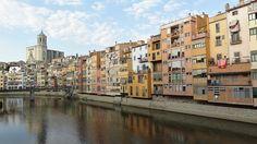 Girona, Spain – My new home Trekking, New Homes, Street View, Girona Spain, Social Network, Travel, Blog, Santiago De Compostela, Destiny