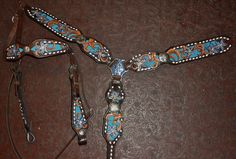 Breastcollar and Headstall sets - Hallowe Ranch