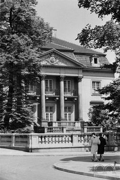 Pałac Mańkowskich, ul. Topolowa 5 Lata 50. XX w.