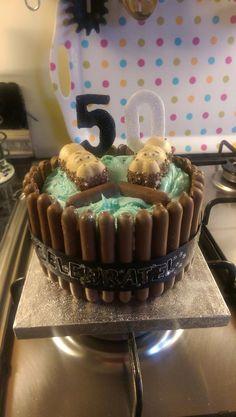kinder happy hippo cake - Google Search