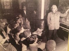 """Einstein stood outdoors to receive his honorary degree from Lincoln University, which can actually be viewed on the Einstein Archives Online now, and, even more importantly, spoke these poignant words reported in the Baltimore Afro-American May 11, 1946: """"There is separation of colored people from white people in the United States. That separation is not a disease of colored people. It is a disease of white people. I do not intend to be quiet about it."""""""