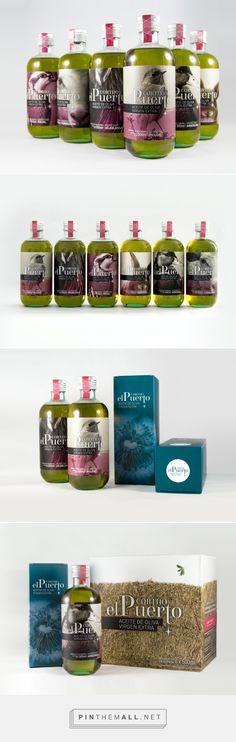 Cortijo El Puerto Extra Virgin Olive Oil - Packaging of the World - Creative Package Design Gallery - http://www.packagingoftheworld.com/2016/03/cortijo-el-puerto-extra-virgin-olive-oil.html
