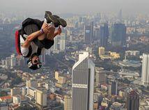 Kuala Lumpur, veža, skok