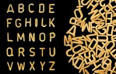 Picture of Alphabet soup pasta font. Letters made from kids food. stock photo, images and stock photography. Alphabet Pasta, Letter To Yourself, Ppr, Classroom Themes, Food Presentation, Kids Meals, Real Food Recipes, Fonts, Lettering