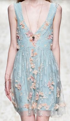 This is so freaking pretty. Blugirl SS 2013