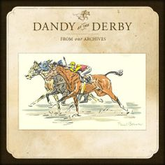 Dandy at the Derby  by Paul Brown