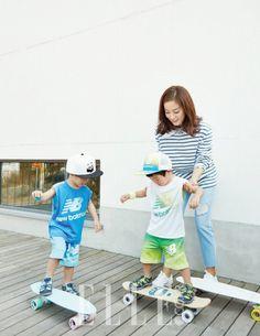 "Seo Un and Seo Jun Become Fashion Models with ""Elle"" Magazine | Koogle TV"