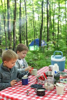 by Aimee So far, the seemingly endless rains of June have kept us from packing the car, heading to a lake and pitching a tent; but we haven't given up hope. Weather permitting, we'll have our summer s