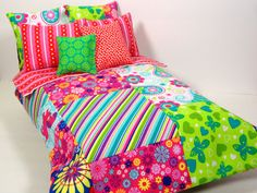Barbie Doll Bedding Set by ElleLaLaBoutique on Etsy