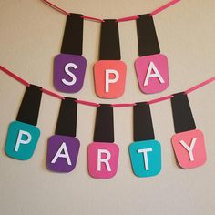 Spa Party Banner Source by Kinder Spa Party, Spa Day Party, Girl Spa Party, Sleepover Birthday Parties, Girl Sleepover, Birthday Party For Teens, Birthday Party Games, Teen Birthday, Teen Spa Party