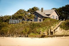 A five-bedroom oceanfront house in Cannon Beach, Ore., is on the market for $2,650,000.00