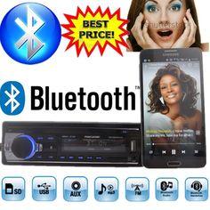 2015 new Car Radio bluetooth MP3 FM/USB/1 Din/remote control/USB port 12V Car Audio bluetooth 1 din auto radio blueooth aux in