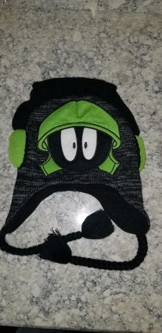 Details about Looney Tunes Marvin The Martian Knit Hat Beanie One Size Fit  Most 81140304d1